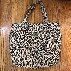 Marc by Marc Jacobs Leopard Nylon Pretty Tate Tote